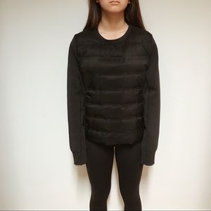 Black Lululemon Pullover Puffy Long Sleeve